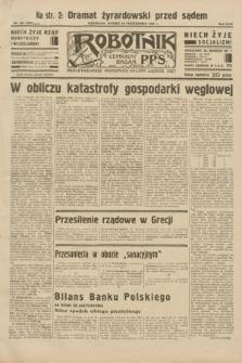 Robotnik : centralny organ P.P.S. R.38, nr 364 (25 października 1932) = nr 5067