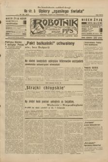 Robotnik : centralny organ P.P.S. R.38, nr 369 (28 października 1932) = nr 5072 (po konfiskacie nakład drugi)
