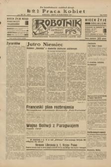 Robotnik : centralny organ P.P.S. R.38, nr 371 (29 października 1932) = nr 5074 (po konfiskacie nakład drugi)