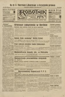 Robotnik : centralny organ P.P.S. R.38, nr 380 (6 listopada 1932) = nr 5083