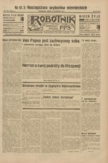 Robotnik : centralny organ P.P.S. R.38, nr 383 (9 listopada 1932) = nr 5086