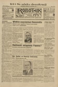 Robotnik : centralny organ P.P.S. R.38, nr 384 (10 listopada 1932) = nr 5087