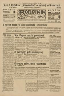 Robotnik : centralny organ P.P.S. R.38, nr 386 (11 listopada 1932) = nr 5089 (po konfiskacie nakład drugi)