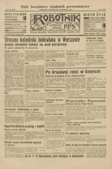 Robotnik : centralny organ P.P.S. R.38, nr 389 (14 listopada 1932) = nr 5092