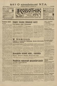 Robotnik : centralny organ P.P.S. R.38, nr 392 (17 listopada 1932) = nr 5095