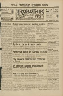 Robotnik : centralny organ P.P.S. R.38, nr 394 (19 listopada 1932) = nr 5097