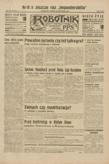 Robotnik : centralny organ P.P.S. R.38, nr 397 (22 listopada 1932) = nr 5100