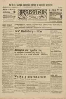 Robotnik : centralny organ P.P.S. R.38, nr 400 (24 listopada 1932) = nr 5103