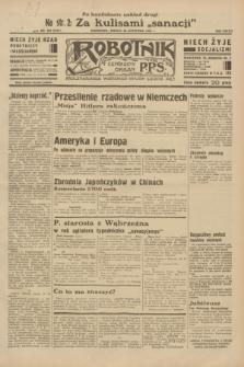 Robotnik : centralny organ P.P.S. R.38, nr 404 (26 listopada 1932) = nr 5107 (po konfiskacie nakład drugi)