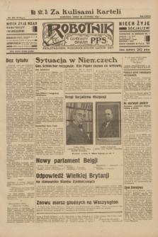 Robotnik : centralny organ P.P.S. R.38, nr 409 (30 listopada 1932) = nr 5112