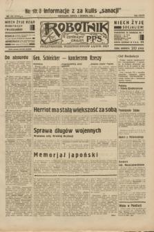 Robotnik : centralny organ P.P.S. R.38, nr 412 (3 grudnia 1932) = nr 5115