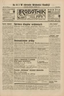 Robotnik : centralny organ P.P.S. R.38, nr 417 (8 grudnia 1932) = nr 5120