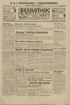 Robotnik : centralny organ P.P.S. R.38, nr 420 (11 grudnia 1932) = nr 5123