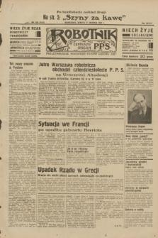 Robotnik : centralny organ P.P.S. R.38, nr 428 (17 grudnia 1932) = nr 5131 (po konfiskacie nakład drugi)
