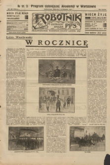 Robotnik : centralny organ P.P.S. R.38, nr 429 (18 grudnia 1932) = nr 5132