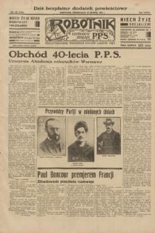 Robotnik : centralny organ P.P.S. R.38, nr 430 (19 grudnia 1932) = nr 5133