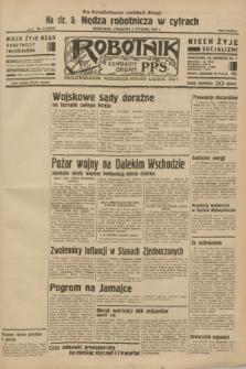 Robotnik : centralny organ P.P.S. R.38 [i.e.39], nr 8 (5 stycznia 1933) = nr 5154 (po konfiskacie nakład drugi)