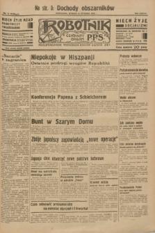 Robotnik : centralny organ P.P.S. R.38 [i.e.39], nr 15 (10 stycznia 1933) = nr 5159
