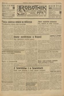 Robotnik : centralny organ P.P.S. R.38 [i.e.39], nr 23 (16 stycznia 1933) = nr 5167