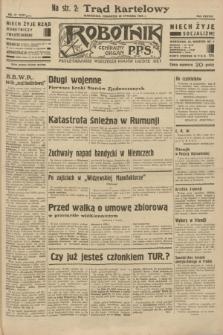 Robotnik : centralny organ P.P.S. R.38 [i.e.39], nr 37 (26 stycznia 1933) = nr 5181