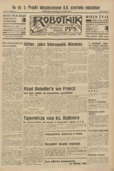 Robotnik : centralny organ P.P.S. R.38 [i.e.39], nr 45 (2 lutego 1933) = nr 5189