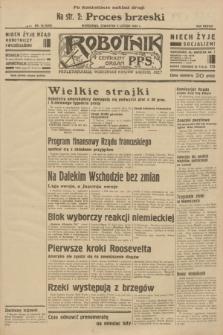 Robotnik : centralny organ P.P.S. R.38 [i.e.39], nr 55 (9 lutego 1933) = nr 5200