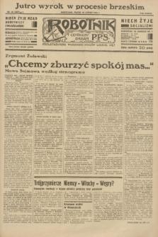 Robotnik : centralny organ P.P.S. R.38 [i.e.39], nr 56 (10 lutego 1933) = nr 5201