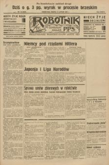 Robotnik : centralny organ P.P.S. R.38 [i.e.39], nr 58 (11 lutego 1933) = nr 5203 (po konfiskacie nakład drugi)