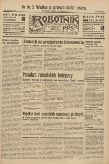 Robotnik : centralny organ P.P.S. R.38 [i.e.39], nr 66 (17 lutego 1933) = nr 5211
