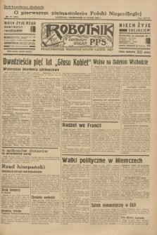 Robotnik : centralny organ P.P.S. R.38 [i.e.39], nr 77 (27 lutego 1933) = nr 5222
