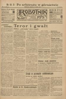 Robotnik : centralny organ P.P.S. R.38 [i.e.39], nr 92 (12 marca 1933) = nr 5237