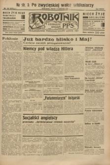 Robotnik : centralny organ P.P.S. R.38 [i.e.39], nr 130 (14 kwietnia 1933) = nr 5275