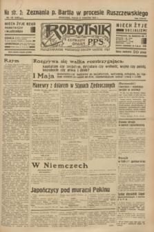 Robotnik : centralny organ P.P.S. R.38 [i.e.39], nr 135 (21 kwietnia 1933) = nr 5280