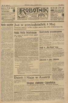 Robotnik : centralny organ P.P.S. R.38 [i.e.39], nr 141 (26 kwietnia 1933) = nr 5286