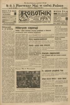Robotnik : centralny organ P.P.S. R.38 [i.e.39], nr 149 (3 maja 1933) = nr 5294