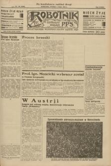Robotnik : centralny organ P.P.S. R.38 [i.e.39], nr 155 (9 maja 1933) = nr 5300