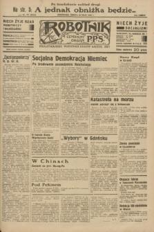 Robotnik : centralny organ P.P.S. R.38 [i.e.39], nr 171 (20 maja 1933) = nr 5316 (po konfiskacie nakład drugi)
