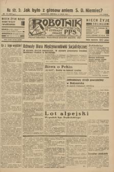 Robotnik : centralny organ P.P.S. R.38 [i.e.39], nr 172 (21 maja 1933) = nr 5317