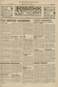 Robotnik : centralny organ P.P.S. R.38 [i.e.39], nr 180 (26 maja 1933) = nr 5325 (po konfiskacie nakład drugi)