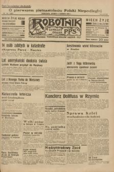 Robotnik : centralny organ P.P.S. R.38 [i.e.39], nr 193 (6 czerwca 1933) = nr 5338