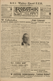 Robotnik : centralny organ P.P.S. R.38 [i.e.39], nr 197 (9 czerwca 1933) = nr 5342