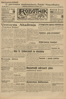 Robotnik : centralny organ P.P.S. R.38 [i.e.39], nr 208 (19 czerwca 1933) = nr 5353