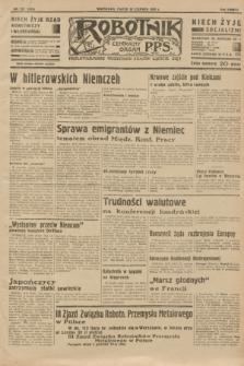Robotnik : centralny organ P.P.S. R.38 [i.e.39], nr 225 (30 czerwca 1933) = nr 5369