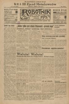 Robotnik : centralny organ P.P.S. R.38 [i.e.39], nr 227 (1 lipca 1933) = nr 5371 (po konfiskacie nakład drugi)