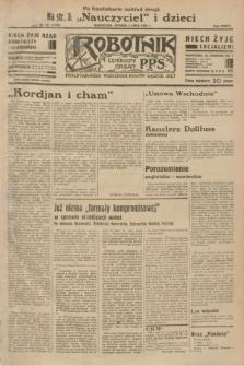 Robotnik : centralny organ P.P.S. R.38 [i.e.39], nr 232 (4 lipca 1933) = nr 5376 (po konfiskacie nakład drugi)