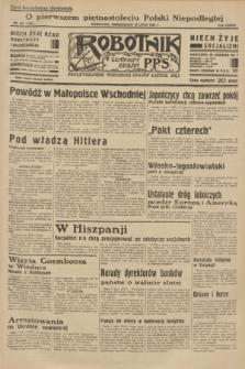 Robotnik : centralny organ P.P.S. R.38 [i.e.39], nr 241 (10 lipca 1933) = nr 5385