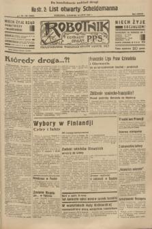 Robotnik : centralny organ P.P.S. R.38 [i.e.39], nr 258 (20 lipca 1933) = nr 5402 (po konfiskacie nakład drugi)