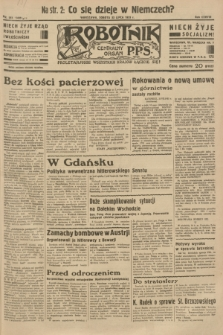 Robotnik : centralny organ P.P.S. R.38 [i.e.39], nr 261 (22 lipca 1933) = nr 5405
