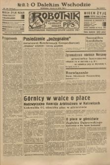 Robotnik : centralny organ P.P.S. R.38 [i.e.39], nr 268 (28 lipca 1933) = nr 5412