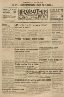 Robotnik : centralny organ P.P.S. R.38 [i.e.39], nr 277 (4 sierpnia 1933) = nr 5421
